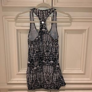 Lululemon patterned tank top